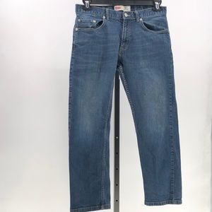 Levi's 505 regular blue jeans boys sz 12 husky